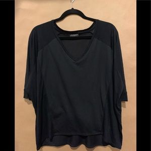 Topshop Black Top Size Small
